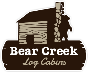 Bear Creek Log Cabins logo